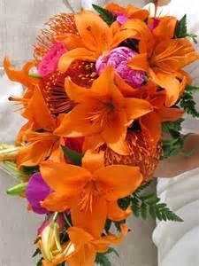 hawaiian wedding flowers tropical wedding flower bouquet wedding stuff