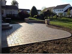 Adding Pavers To Concrete Patio Decorate Hilliard Ohio Paver Patio Contemporary Patio Columbus By Two
