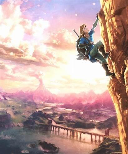 Zelda Legend Breath Wild Link Gaming