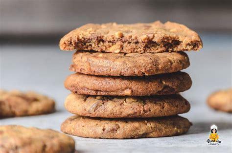 weiche erdnussbutter cookies mit nutella swirl backina