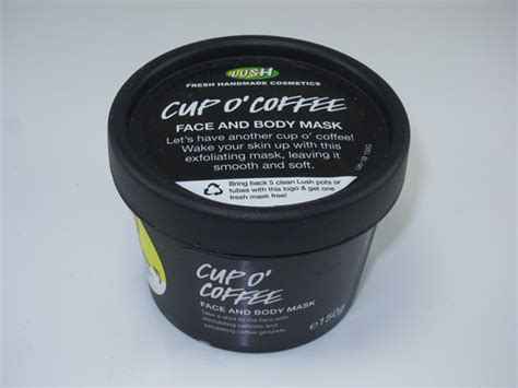 Cup o' coffee is a face and body exfoliating mask, and one of the most fragrant ones, might i add. Lush Cup O' Coffee Face And Body Mask Review - Musings of a Muse