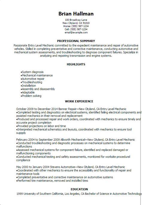 automotive resume templates  impress  employer