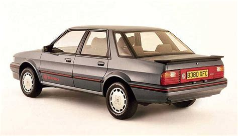 1985-1991 MG Montego EFi/Turbo specifications | Classic ...