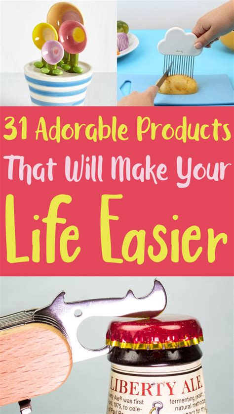 insanely adorable products     life easier