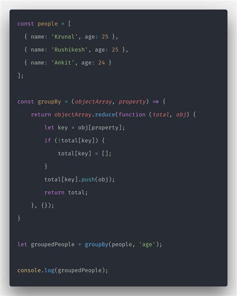 Javascript Array reduce: How to Create Reducer Function in JS