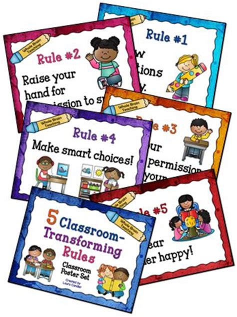 127 Best Classroom Rules Images On Pinterest