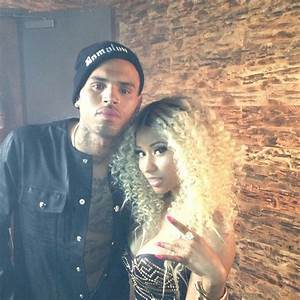 Chris Brown and Nicki Minaj Shoot 'Love More' Video