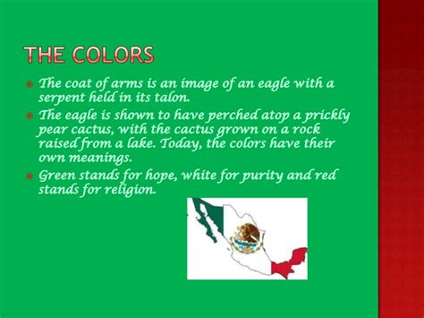 what color is the mexican flag the history of the mexican flag