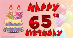 happy 65th birthday wishes greetings pictures wish