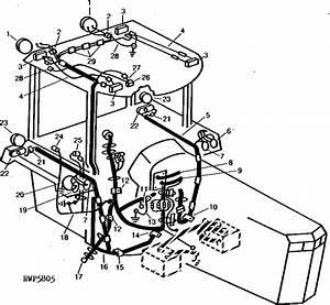 4650 - Tractor Roll-gard Wiring  012905