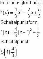 Scheitelpunktform A Berechnen : l sungen zu den trainingsaufgaben zu formfaktor ~ Themetempest.com Abrechnung