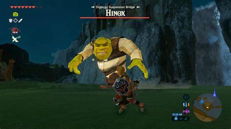 shrek hinox  legend  zelda breath   wild