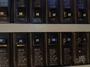 Circuit Breaker Box Label
