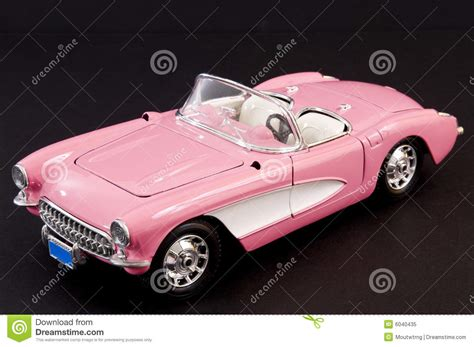 Pink Stylish Classic Sports Car Stock Image