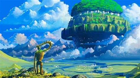 Castle In The Sky Theme 1080p Hq Youtube