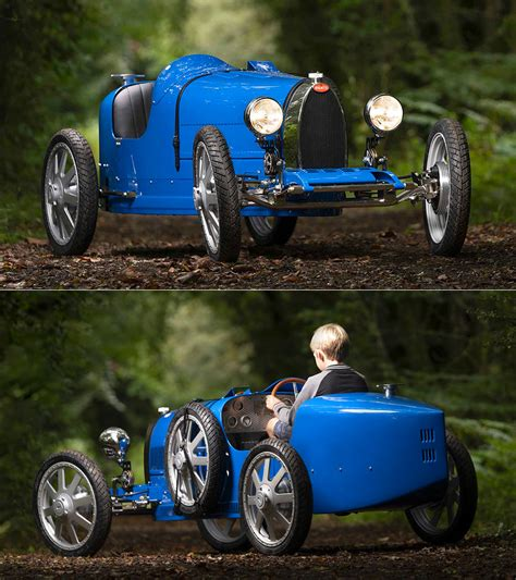 The bugatti baby ii arrived in southern california just in time for christmas and is celebrating its premiere in north america. Bugatti Baby II is a $33,000 Electric Toy Car That Can Hit 28MPH - TechEBlog