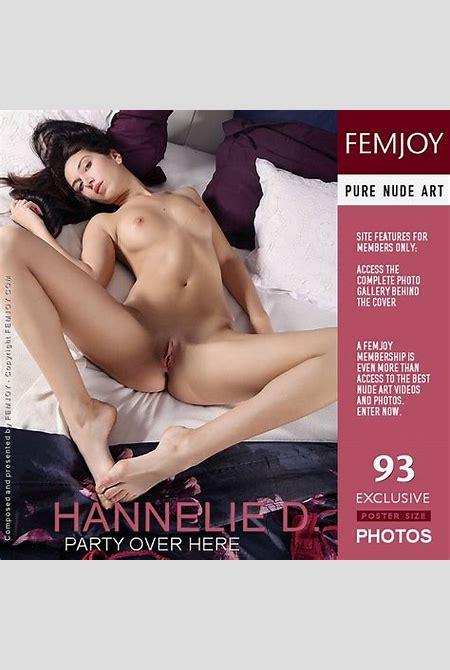 Hannelie D ⋆ Download Met Art, FemJoy