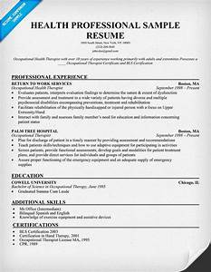 health professional sample resume http resumecompanion With healthcare professional resume