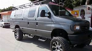 1995 Ford E-350 Diesel Van 4x4 Lifted On 35 U0026quot S