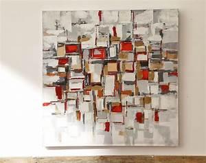 Tableau Peinture Moderne : encadrement tableaux modernes ~ Teatrodelosmanantiales.com Idées de Décoration