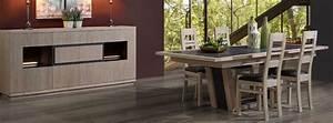 Salle a manger panama chene et ceramique meubles bois for Meuble salle À manger avec salle a manger en chene massif