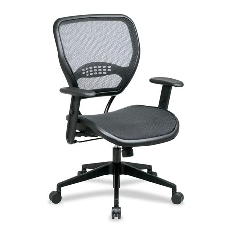 office matrex mesh back task chair black seat