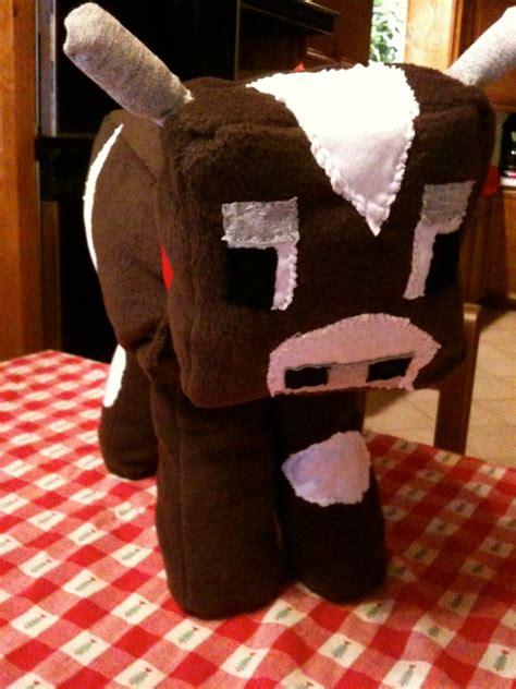 inspired plush pillows by cutesykats on deviantart plush minecraft cow by greyaneria on deviantart Minecraft