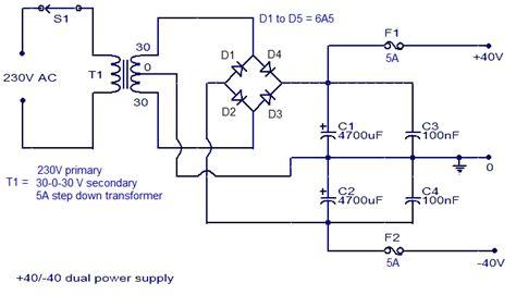 simple  amplifier circuit diagram circuits diagram lab