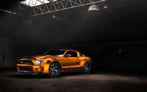 Ford Mustang Tuning Car Warehouse Wallpaper 1680x1050
