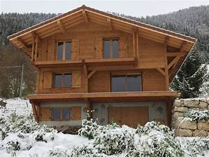 maison chalet ossature bois 74 la roche sur foron With abri de jardin contemporain 4 chalets sage maisons et chalets ossature bois la roche