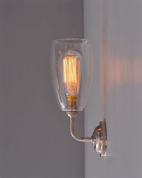 upton contemporary wall light light it up glass wall