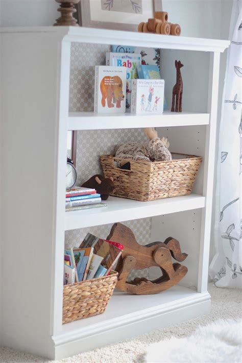 Bookcases For Nursery by The Barn Door Gender Neutral Nursery Nook