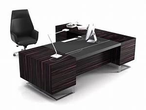 Modern Executive Office Design #4 - Elegant Black ...