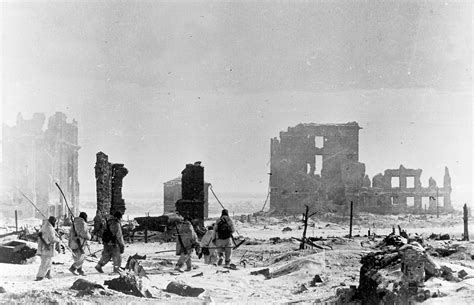the siege of stalingrad the stalingrad necropolis sometime after the end of the