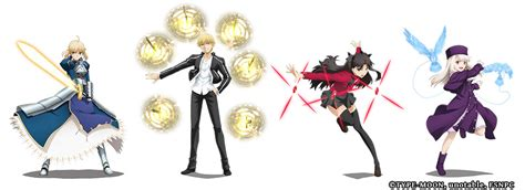 fatestay night unlimited blade works crossover