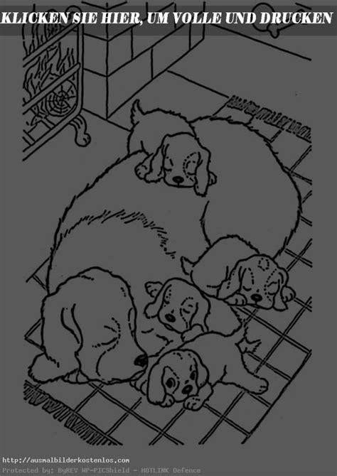 ausmalbilder kostenlos hunde  ausmalbilder kostenlos