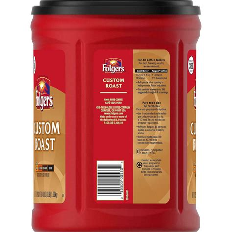 Folgers instant coffee comes in regular or decaf versions and as crystals and sticks. 34 Folgers Coffee Nutrition Label - Label Design Ideas 2020