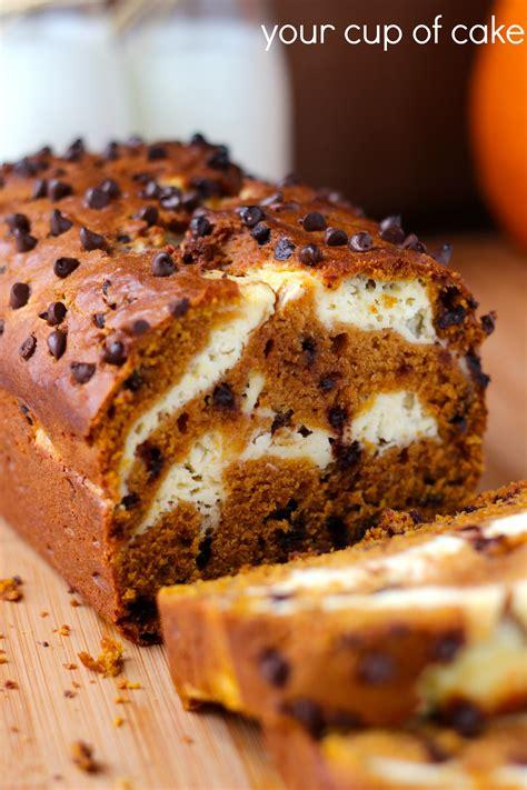 pumkin cheese pumpkin cream cheese bread
