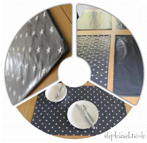 faire des sets de table avec de la toile cir 233 e st 233 phanie bricole