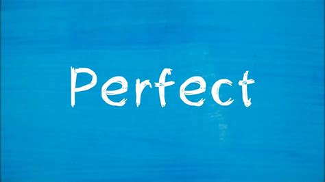"Ed Sheeran  ""perfect"" (lyrics Review And Song Meaning"