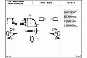 1994 Ford Thunderbird Dash Kits