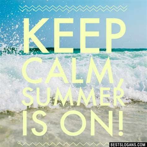 50+ Summer Slogans 2018 Inc Sayings, Phrases, Idioms & Quotes