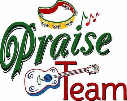 Praise Clipart Team Worship Clip Christian Service
