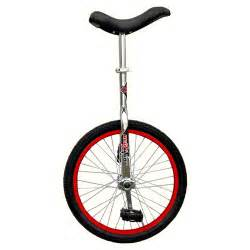 20 inch Unicycle, Silver