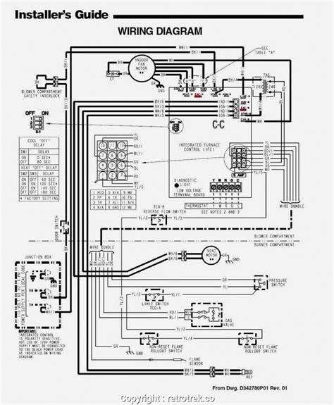 Trane Furnace Wiring Diagram Free