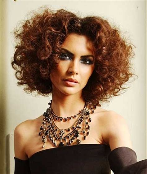 short cuts for curly hair short hairstyles 2017 2018