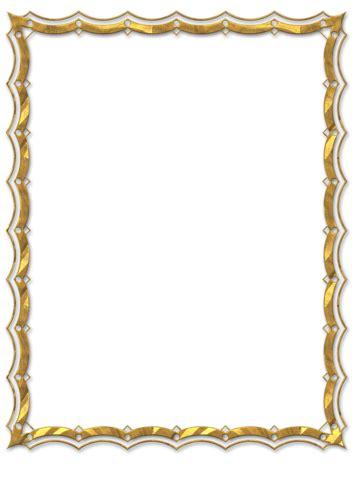 cornici dorate  tutta grafica printables frame