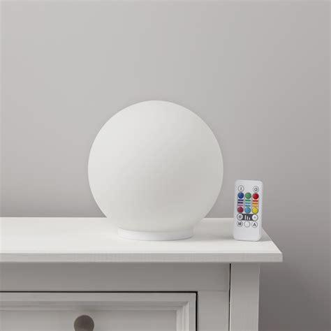 glam white mood lamp departments diy  bq