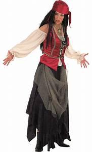 Costume pirate femme