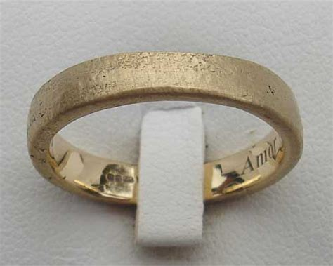 women s handmade gold wedding ring love2have in the uk